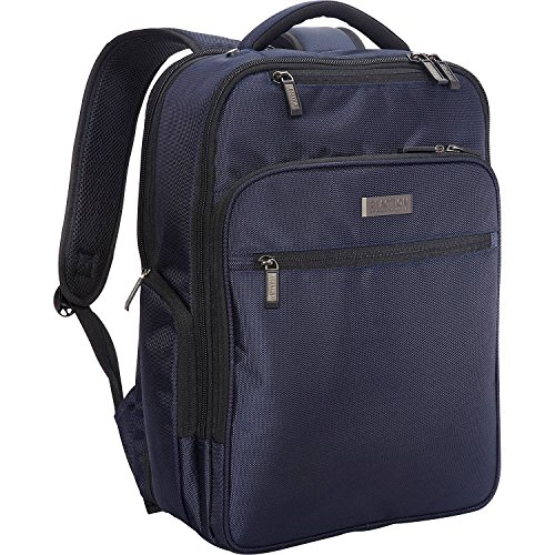 "Kenneth Cole Reaction Brooklyn Commuter 16"" Backpack Navy One Size"