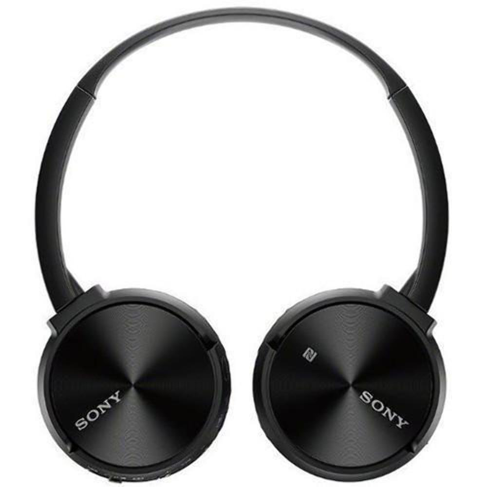 Sony mdr-zx330bt/B Bluetooth inalámbrico auriculares de diadema w/micrófono NFC - negro (Certificado Reformado): Amazon.es: Electrónica