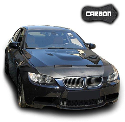 Hood Bra for BMW M3 E92 E93 CARBON Bonnet Car Bra Front End Cover Nose Mask Stoneguard Protector TUNING