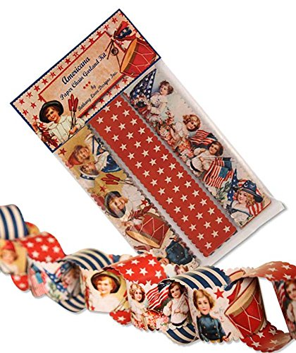 bethany-lowe-vintage-style-americana-patriotic-paper-chain-garland