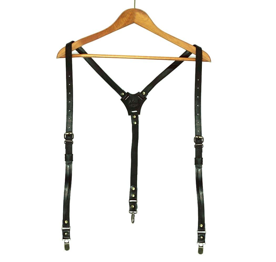Suspenders for men, double clip suspenders, men suspenders braces Y-back by AGE (Image #1)