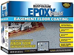 Rust-Oleum 203007 Basement Floor Kit, Gray