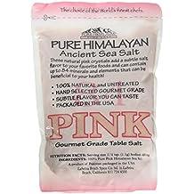 Pure Pink Himalayan Ancient Sea Salt 2 lb. Resealable Bag - Gourmet Grade - Fine Grain