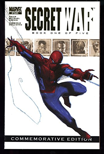 2004 Marvel Secret War Commemorative Edition #1 Gold Foil Comic Book Spider-Man