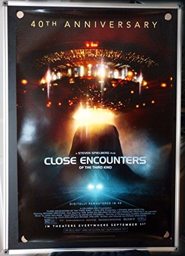 Close Encounters of the Third Kind 40th Anniversary Original Single Sided Rolled 27x40 Movie Poster 2017 (Close Encounters Of The Third Kind 40th Anniversary)
