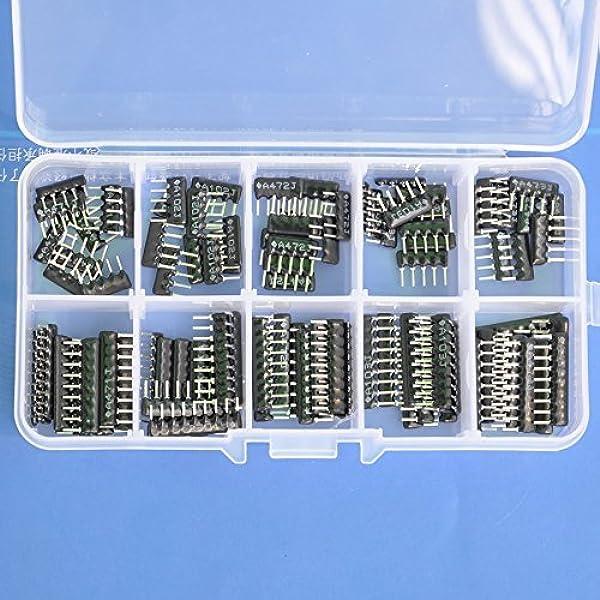 Pack of 100 4609X-101-154LF Resistor Networks amp; Arrays 9pins 150Kohms Bussed