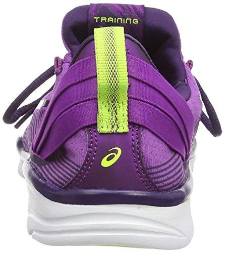 Asics Gel-Fit Sana 2, Women's Running Shoes Purple (Grape/Dark Berry/Flash Yellow 3636)