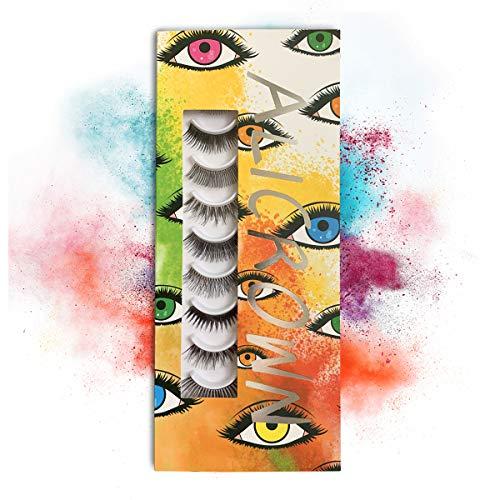 bdd31fd4a1b ALICROWN Glamour Variety Pack of False Eyelashes 10 Pairs of Glamorous Fake  Lashes