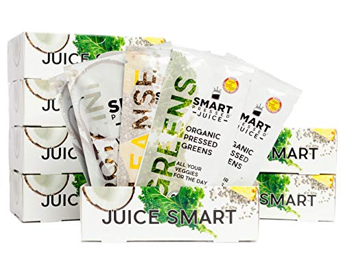 7-Day Organic Juice Cleanse Weight Loss | Smart Pressed Juice | Detox Shake Health Program | Cold-Pressed Green Juice | Beets Chia Fiber Protein Celery | Made in USA (7 Meals A Day For Weight Loss)