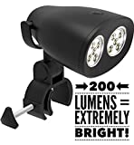 SMART Concepts! Grill Light Ultra-Bright 2018 Newly Released 200 Lumen! 2 Watts! Waterproof Barbecue Grill Light, Durable, Weather Resistant, 10 Extremely Bright LED Lights, BBQ Light Any Grill
