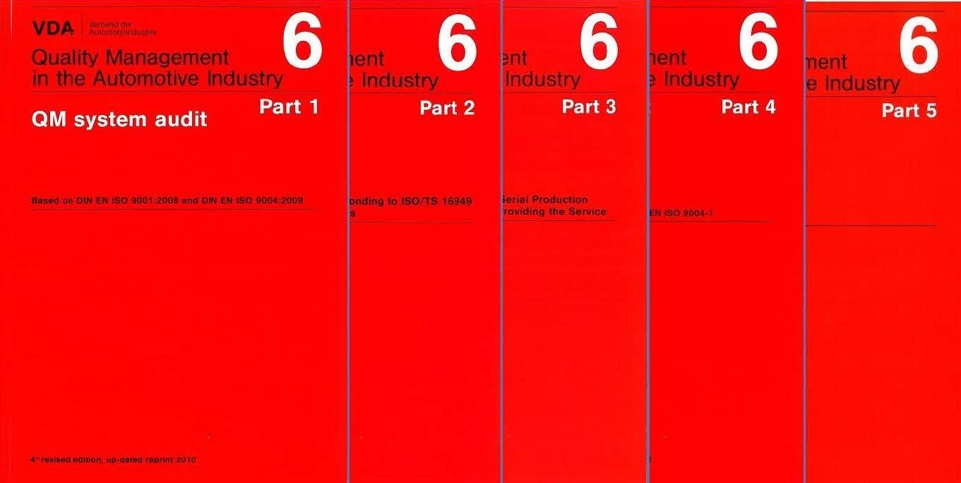 Set Of Vda Volume 61 65 Qm System Audit Certification