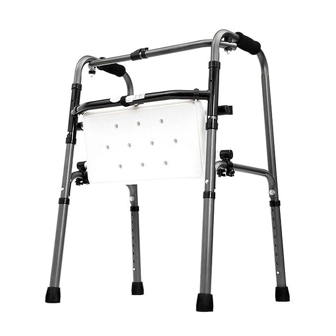 SXXDERTY-Walker Silla de Ducha Plegable, Andador geriátrico ...