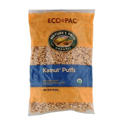 - Nature's Path Organic Kamut Puffs Cereal, 6-ounce Bag