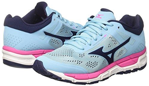 Synchro Pinkglo de Multicolor para Mujer Bluetopaz Running Mizuno MX Zapatillas W Peacoat SCgdIwPq