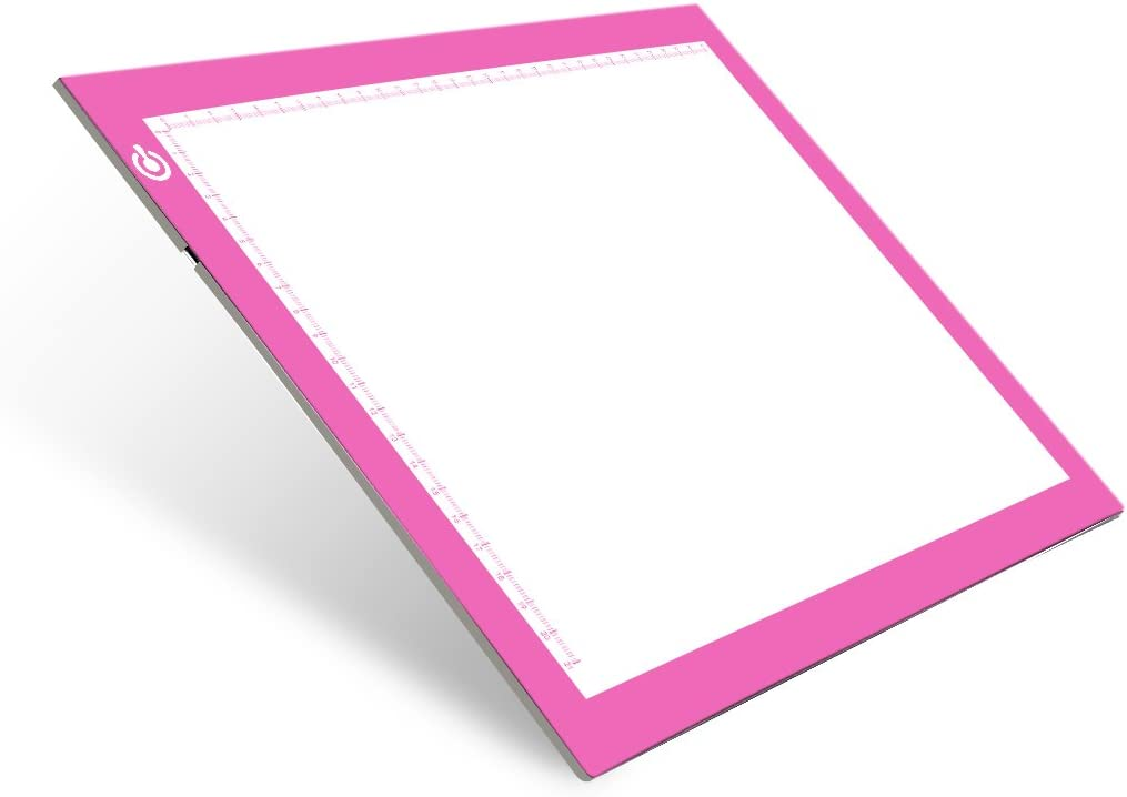 Drawing NXENTC A4 Tracing Light Pad Sketching Ultra-Thin Tracing Light Box USB Power Artcraft Tracing Light Table for Artists Animation