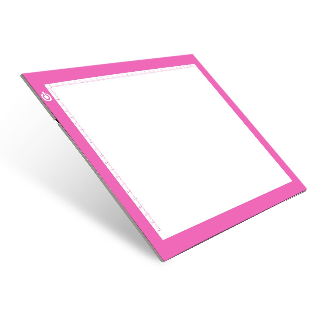 Light Pad Drawing A4 Tracing Light Table NXENTC LED Copy Board Ultra-Thin Display Pad Brightness Adjustable Stencil Artist Art Tracing Tatto Table Pink by NXENTC