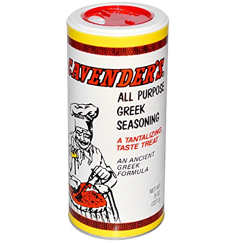 Cavenders Greek Seasoning (Cavender's, All Purpose Greek Seasoning, 8 oz (227 g) - 2pcs)