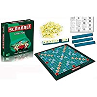 FunBlast Scrabble Board Game- Cross Word Game for 2-4 Players (Multicolor)