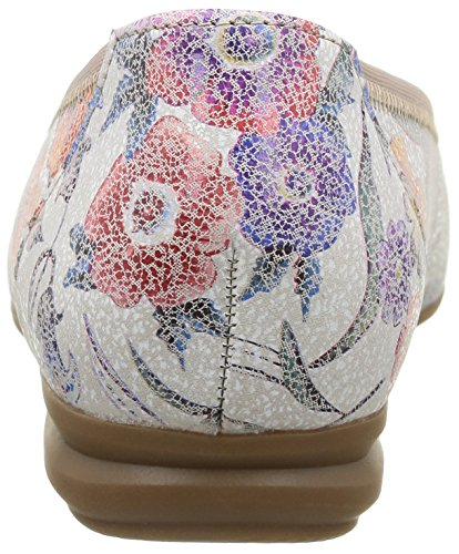 Multicolor Gabor Donna 38 Ballerine Mehrfarbig Comfort nxBXBpvqwZ