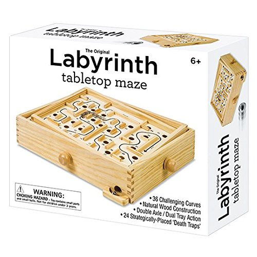 Wooden Labyrinth (Westminster Wooden Labyrinth Game)