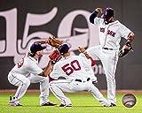 "Blake Swihart Mookie Betts Jackie Bradley Boston Red Sox 2016 MLB Action Photo (Size: 8"" x 10"")"
