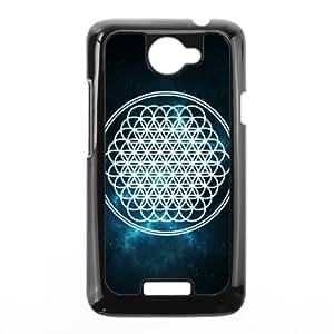Custom Bring Me The Horizon,Best Protective Hard Plastic,TPU Phone case for HTC One X,black