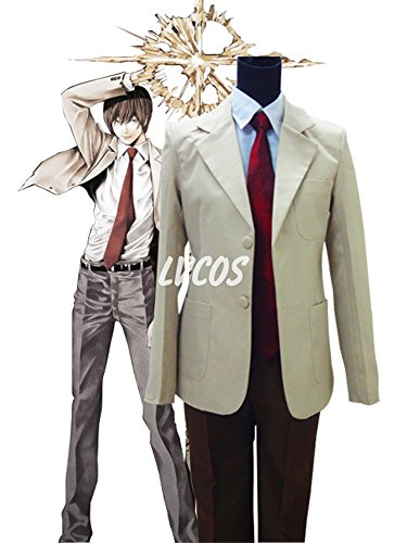 [Death Note Yagami Light Cosplay Costume] (L Costume Death Note)