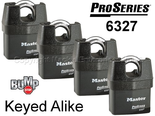 Master Padlock Security Locks 6327NKA 4