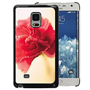 A-type Arte & diseño plástico duro Fundas Cover Cubre Hard Case Cover para Samsung Galaxy Mega 5.8 (Flower Spring Red Pink Yellow Petal)