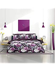 Pieridae Printed Reversible Duvet Quilt Cover Set with Pillow Cases Duvet Cover Sets (Single/Double/Queen/King)