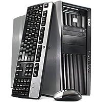 Refurbished - HP Z800 Workstation Desktop - 96GB DDR3 RAM, 2 x 480GB SSD (960GB Total), 2x Intel Xeon Quad Core E5620 2.4GHz, WIFI, Quadro 400, Windows 10 Pro 64-bit (Certified Refurbished)