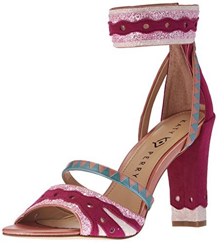 Perry Fuchsia Kai Medium Katy The Heeled Combo Sandal Women's HBWcSp