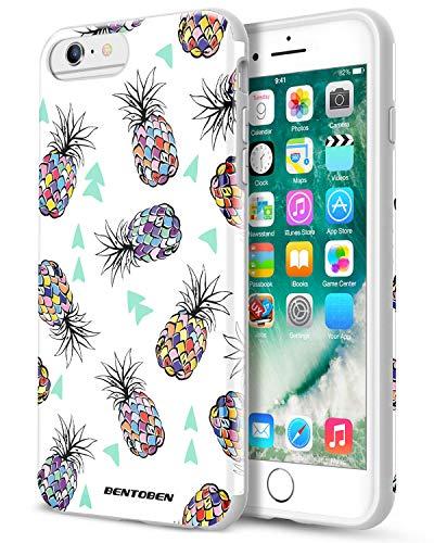 iPhone 6 Plus Case,iPhone 6S Plus Case BENTOBEN Case for iPhone 6 Plus/6S  Plus Colorful Pineapple