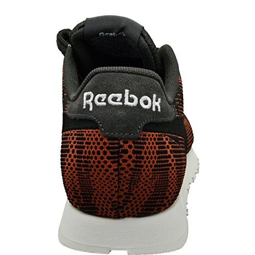 Reebok - Zapatillas de Lona para hombre naranja naranja Orange/Black
