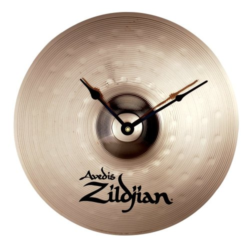 The Zildjian Cymbal Clock: To help you keep the time. Battery powered, 13-inch diameter.