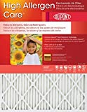13x21.5x1 Dupont High Allergen Care MERV 11 Air Filters (2 Pack)