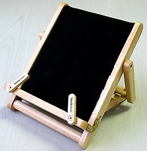 Thinking Gifts Bookchair Deluxe Bookholder, Medium, Black, 1 unit (BCD2D)