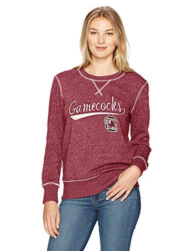 (NCAA South Carolina Fighting Gamecocks Women's Ots Seneca Crew Neck Pullover, Large, Cardinal)