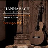 Hannabach 890 MT 1/4 Children Guitar Set (G3 plain) Scale 49-52cm