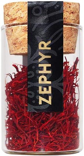 Zephyr azafrán en pistilos enteros, paquete de 1 gramo: Amazon.es: Alimentación y bebidas