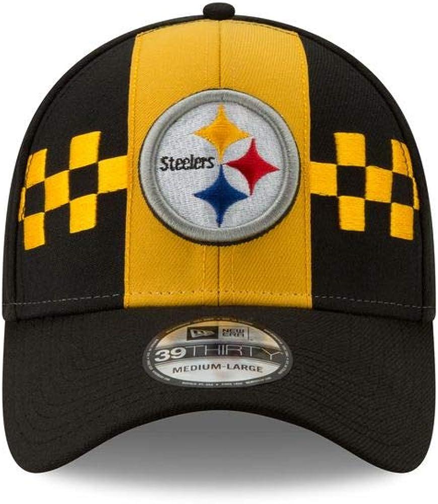 New Era Pittsburgh Steelers 39thirty Stretch Cap Nfl19 Draft