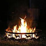 Sunnydaze Running Horse Fire Pit - 36 Inch Wood