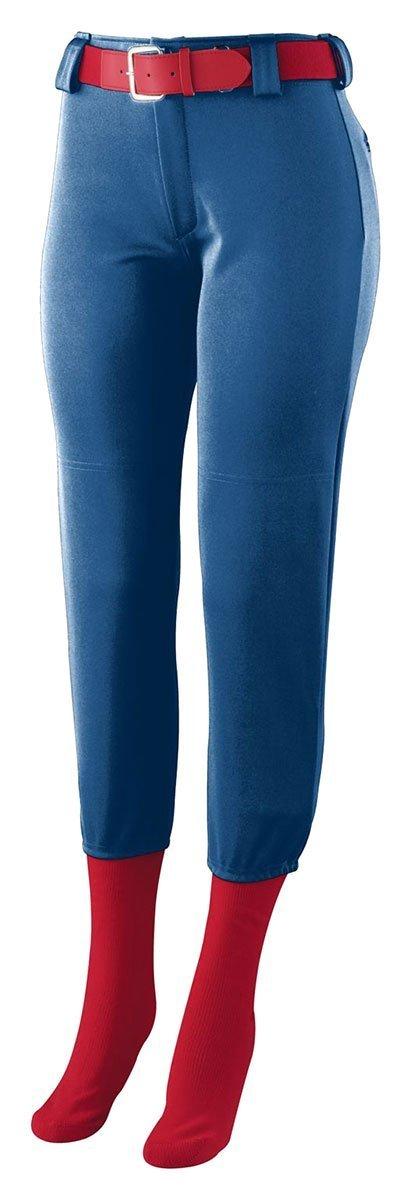 Augusta SportswearレディースHomerun Low Riseソフトボールパンツ B008VNWY0C Medium|ネイビー ネイビー Medium