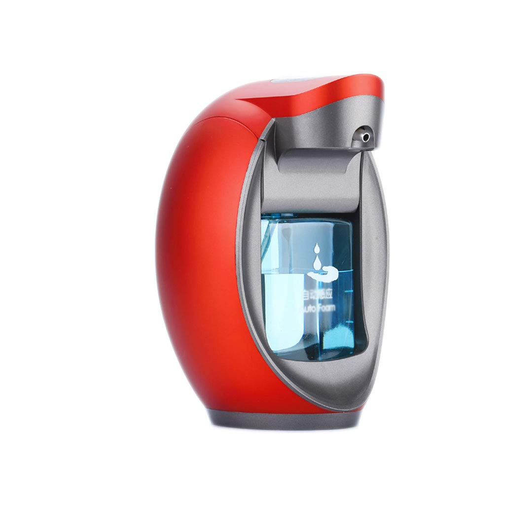 TLMY Smart Foam Hand Sanitizer, Automatic Soap Dispenser Induction Washing Mobile Phone, Hand Sanitizer Hand Sanitizer Bottle soap Dispenser (Color : Red)