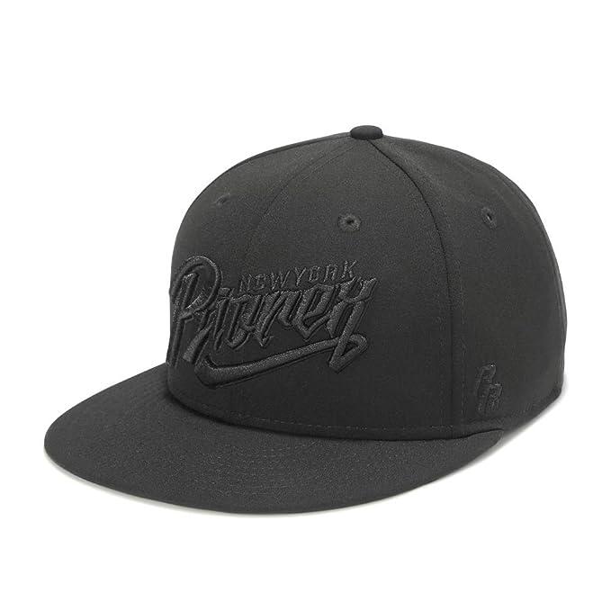eec4cc890c3 Riorex Men s Cap Originals Snapback Flatbrim Cap Classic Five Star Black Cap  Young People (riorex