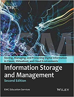 Book INFORMATION STORAGE AND MANAGEMENT