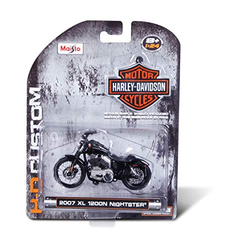 Min Moto Harley Davidson Maisto
