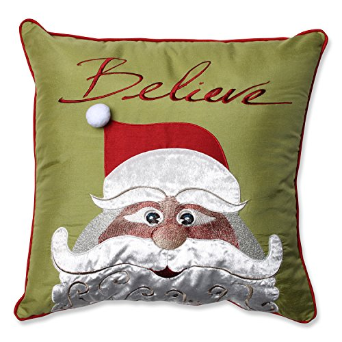 Pillow Perfect Christmas Believe 18 Inch