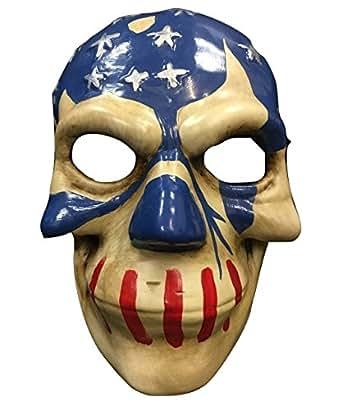 La Purga Máscara bandera eeuu DESDE ELECCIONES Año de la 3 Película Cosplay Halloween - plástico duro universal Máscara