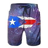 LOVE PUERTO RICO Men's Summer Casual ShortsL
